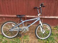 New 11 inch frame BMX bike in grey splash art bicycle 8/9/10/11/12/13years old