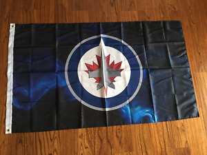 Man Cave Jets Bomber , B.N. sealed flags 3ft x5ft