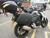 Honda CB500 FA 2016/16reg 6790miles 3 part luggage FSH