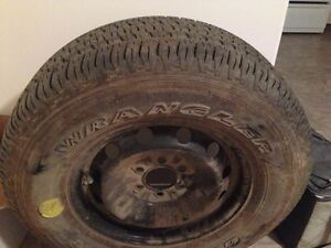 New spare tire and rim 265/70 R17 Prince George British Columbia image 2