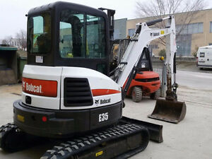 3.5 Ton Bobcat Compact Excavator Rental