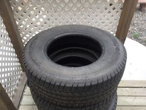 Dodge tires with rims // winter set