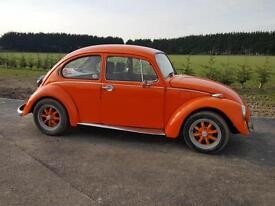 VW Beetle 1600 CONVERSION 1974Part Restored extensive mechanical rebuild