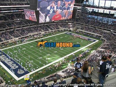 2  Dallas Cowboys Tickets vs New York Giants Tix - Cowboys Stadium Sec 449