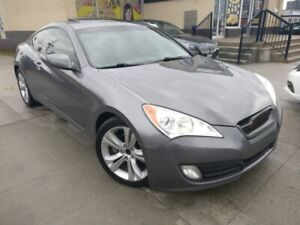 2010 Hyundai Genesis Coupe Sunroof Leather Coupe Low Kms