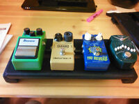 Ibanez TS9 or vintage MXR Distortion + and mini pedalboards