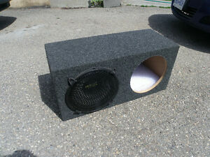 "Double 12"" Subwoofer Box/ 1 Phoenix Gold XS Series 12"""