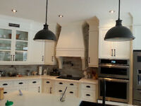 Kitchen cabinet refacing, kitchen island, home remodeling & bath