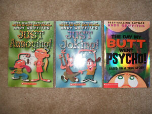 Griffiths---3 funny kids' books---Butt Wars...