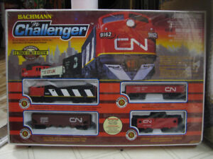 BACHMANN - CHALLENGER Electric Train Set - HO Gauge