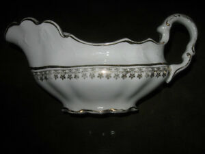 ....A Classy Little China Gravy Boat .[Homer Laughlin]