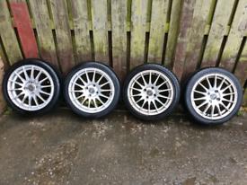 16 inch Fox Racing 4x108 Alloy wheels