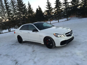 2014 Mercedes-Benz E-Class E63 AMG-S Sedan