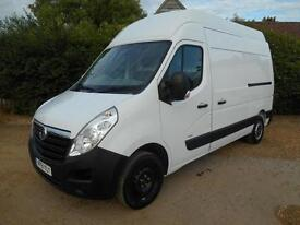 2012 VAUXHALL MOVANO 2.3CDTI MWB EXTRA HIGH ROOF EURO5 1 OWNER IMMACULTE VAN