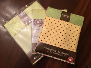Three Brand New Kushies Changing Pad Covers