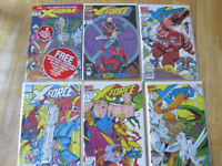 X-Force comics run #1-18