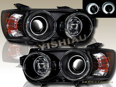 - 12-14 CHEVY SONIC DUAL CCFL HALO PROJECTOR HEADLIGHTS BLK HOUSING
