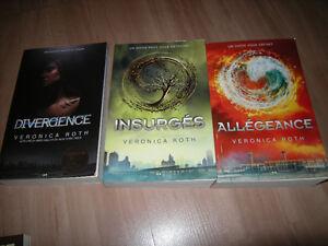 Divergence - Insurgés - Allégeance (Trilogie complète)