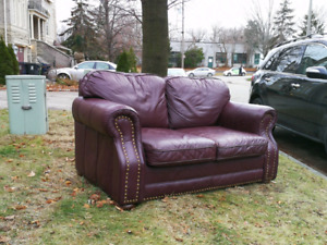 Free Loveseat Pickup Only