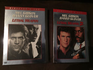 LETHAL WEAPON 1 & 2 on DVD (Excellent Used Condition)