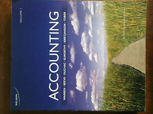 Accounting Volume 1, 2nd Canadian Edition