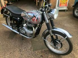 BSA 650cc ROCKET GOLD STAR REPLICA MANUFACTURED 1960