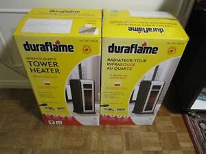 Duraflame Infrared Quartz 1,000 Sq. Ft. Tower Power Heater - New