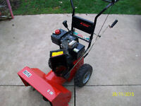 Noma 5hp 22 inch cut Snowblower...New Carb.
