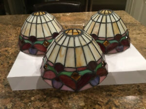 Stained Glass Chandelier Light