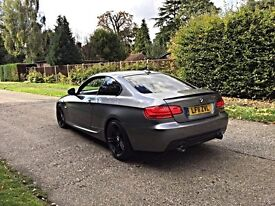 2011 BMW 335D COUPE LCI M SPORT PLUS FULLY LOADED 313 ALLOYS RED LEATHER iDRIVE