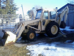 FORD BACKHOE 4500 SERIES