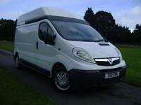 2011 Vauxhall Vivaro 2.0CDTI [115PS] High Roof Van 2.9t 4 door Panel Van