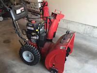 "Craftsman 24"" 250cc dual stage snow blower for sale"