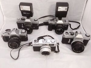 35 MM Camera Collection