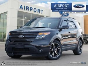 2014 Ford Explorer Sport 4WD with only 52,428 kms