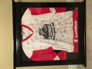 NHL Alumni Jersey - signed by 56 players