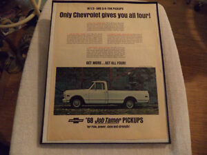 OLD CLASSIC CAR ford & chev PICKUP ADS Windsor Region Ontario image 7