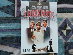 CHECKMATE COMPLETE SERIES, 14 DVDs ,MINT Kitchener / Waterloo Kitchener Area image 1
