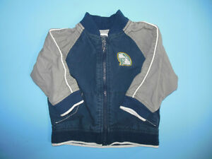 Boys Old Navy Football Jacket Spring/Fall Size 12 -18 months