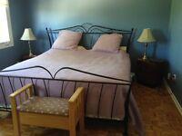 Maison à Louer, meublée. Janvier- 3ch. À coucher.  74 rue Doucet