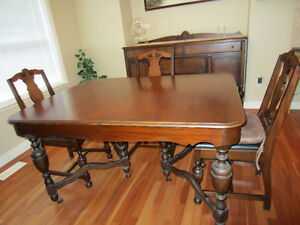 Dining Set  Antique
