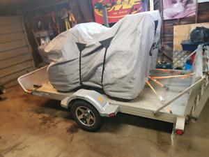 2010  Triton aluminum trailer