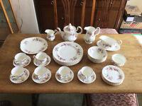 Royal Albert Lavender Rose Dinner and Tea Service