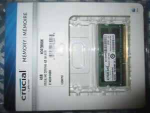 Crucial 4GB Apple Mac DDR3 macbook laptop notebook RAM