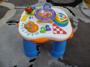 FISHER PRICE BABY TABLE - LIKE NEW CONDITION