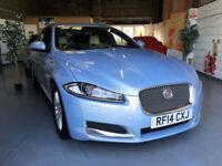 2014 14 Jaguar XF 2.2TD ( 163ps ) ( s/s ) Sportbrake Auto 2014MY SE Business