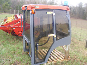 KUBOTA B7800 LAURIN CAB STEEL/GLASS DOORS REDUCED AGAIN!!!