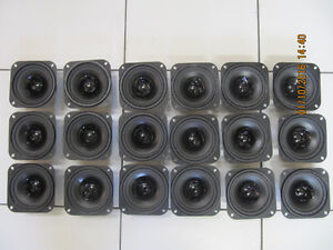 Classic 18pc Lot Of Babco Audio 8ohm All Weather 4inch Speaker N