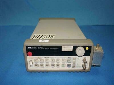 Hp Agilent 33120a Arbitrary Waveform Generator