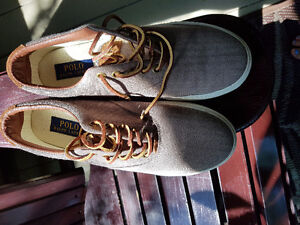 Worn once Polo Ralph Lauren shoes